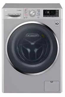 LG 8 Kg/5 Kg 100% Drying Inverter Direct Drive Front Load Washing Machine F4J7THP2S