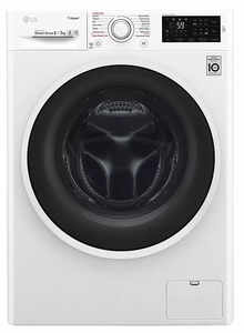 LG 8 Kg/5 Kg Washer Dryer (F4J6TGP0W, Blue-White)
