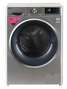 LG FHT1408SWS 8 kg Front Load Fully Automatic Washing Machine (STS-VCM)