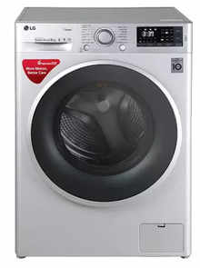 LG FHT1409SWL 9 kg Front Loading Fully Automatic Washing Machine (Luxury Silver)