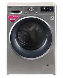 LG FHT1207SWS 7 kg Fully Automatic Front Load Washing Machine (STS-VCM)