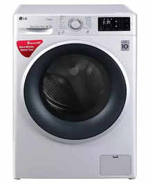 LG FHT1007SNL 7 kg Front Loading Fully Automatic Washing Machine (Luxury Silver)