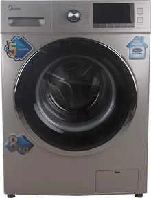 Midea 8 Kg Fully Automatic Front Loading Washing Machine (MWMFL080CDR, Golden)