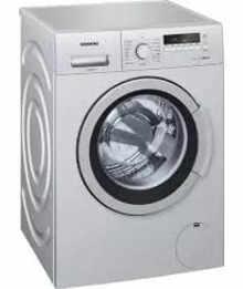 Siemens 7 Kg Washing Machine Silver