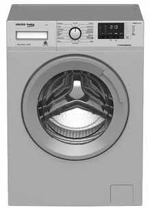 Voltas Beko WFL70S 7 Kg Fully Automatic Front Loading Washing Machine (Grey)