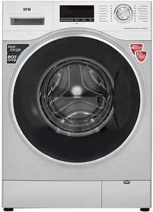 IFB 8 Kg Fully Automatic Front Load Washing Machine with In-built Heater Silver (Senator WXS)