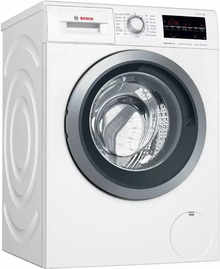 Bosch 8 Kg Inverter Fully Automatic Front Load Washing Machine with In-built Heater White (WAT24463IN)