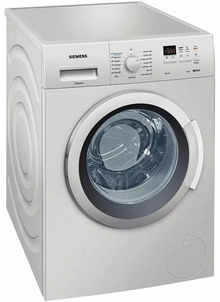Siemens WM12K168IN Fully Automatic Front-Loading Washing Machine (7 Kg, Silver)