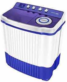 Voltas Beko 8.5 Kg Semi Automatic Top Loading Washing Machine (WTT85BT, Blue)