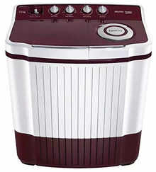 Voltas Beko Semi Automatic Washing Machine WTT80DT (Burgundy)