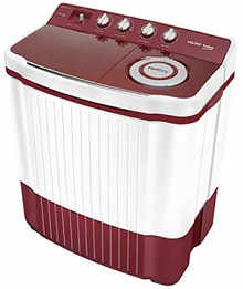 Voltas Beko Semi Automatic Twin Tub Washing Machine (Red)