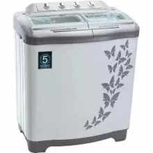 Vestar 7.2 Kg VWTT72VPGY Semi Automatic Washing Machine (Grey)
