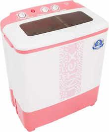 Intex 6.5 Kg Semi Automatic Top Load Washing Machine Pink (WMS65ST)