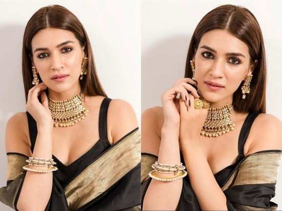 Kriti Sanon's latest look showcases one major trend in ethnic wear right now