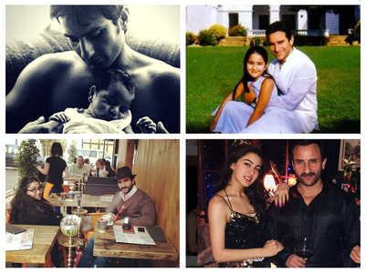 Sara & Saif's 'aww-dorable' throwback pictures