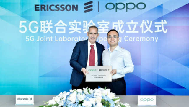 Ericsson, Oppo launch joint 5G lab in China