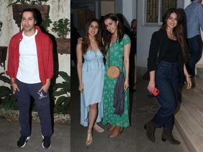 Pics: Bollywood celebs attend 'Bala' screening