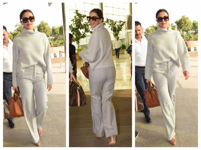 Photos: Deepika Padukone snapped at the airport