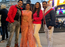 'Dulha Hindustani': Aamrapali Dubey poses for pictures with co-stars Nirahua and Madhu Sharma in London