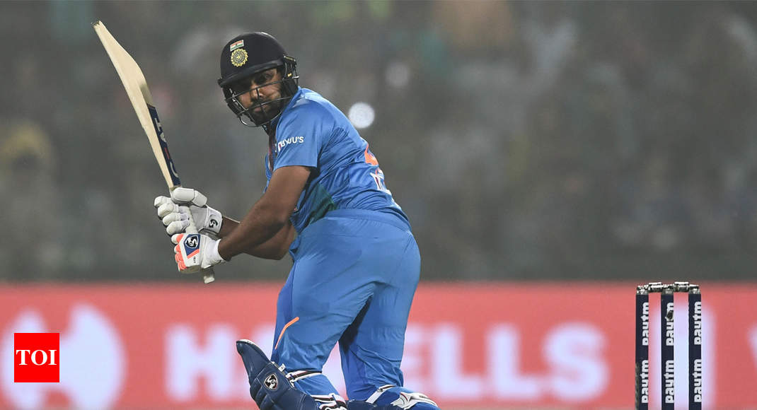a centesimal T20I sport for India a moment of enjoyment: Rohit Sharma thumbnail