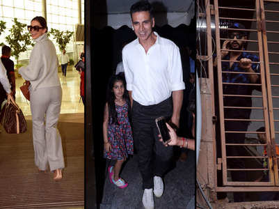 Pics of the day:Deepika to Akki-Nitara & more