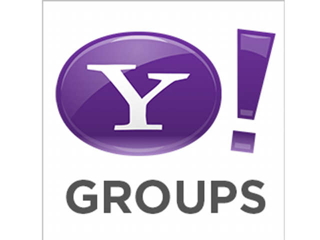 Yahoo Groups was launched in January 2001, during the height of the dotcom boom.
