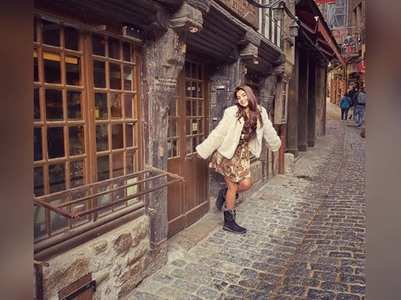 Pooja shares pics from her France vacation