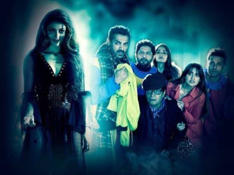 'Pagalpanti' song 'Bimar Dil': Urvashi Rautela turns into a bewitching ghost in this remake of Sridevi's hit song