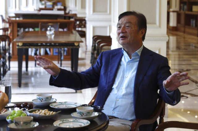 US sanctions not his toughest crisis, says founder Ren Zhengfei