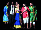A satirical comedy staged in Prayagraj
