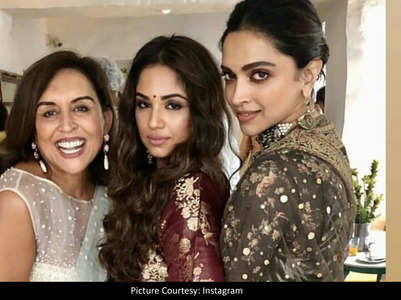 Deepika Padukone stuns in an ethnic outfit