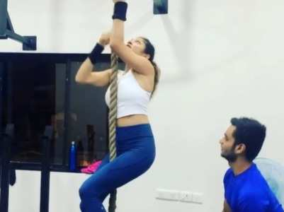 Drashti's workout regime is inspiring