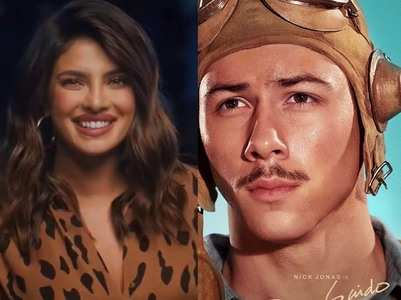 Priyanka's thought on Nick's moustache look!