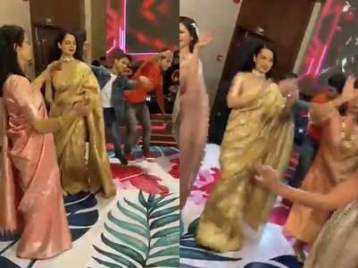 Kangana dances to the tunes of Pahadi music