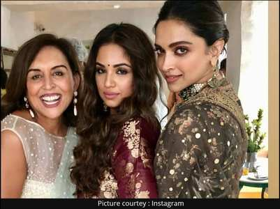 Watch: Deepika dances at bestie's wedding