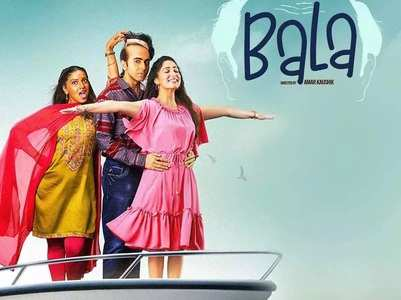 Ayushmann's 'Bala' BO collection Day 1