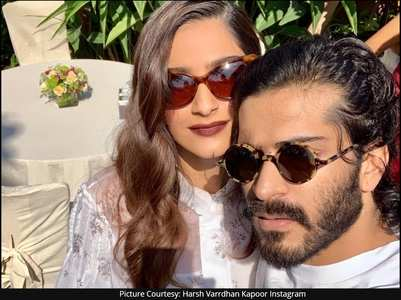 Sonam's b'day wish for brother Harsh Varrdhan