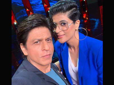 SRK and Tahira debate who has better hair