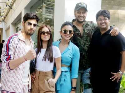 Celebs attend 'Marjaavaan' special screening