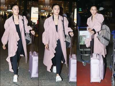 PHOTOS: Alia returns after vacaying in LA