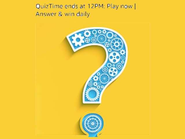 Amazon app quiz November 11, 2019: Answer these five questions to win Rs 5,000 as Amazon Pay balance