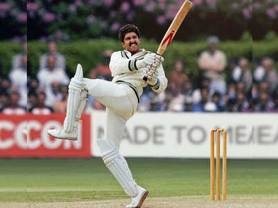 Pic: Ranveer nails Kapil Dev's Natraj shot
