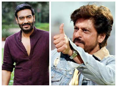 SRK's message for Ajay ahead of his 100th film