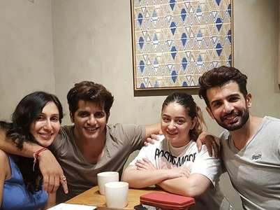 Karanvir meets new parents Jay-Mahhi Vij