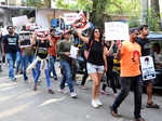 Activists march to raise awareness about rising animal cruelty