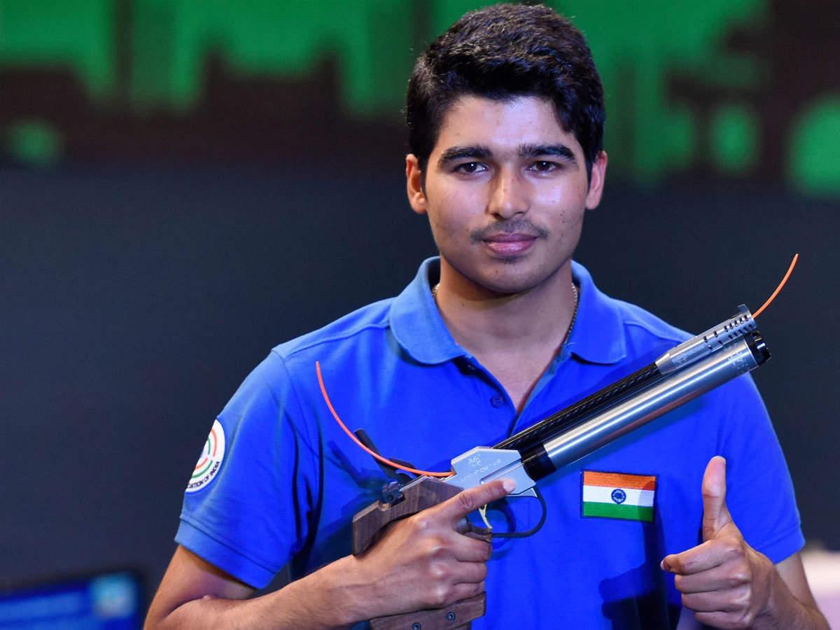 Asian Shooting Championship: Saurabh Chaudhary wins 10m air pistol silver |  More sports News - Times of India