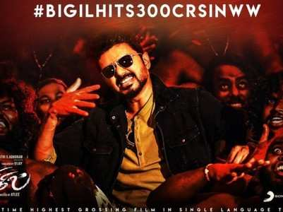 Vijay's 'Bigil' collects Rs 300 crore in 17 days!
