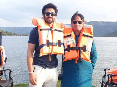 Shashank takes his father for short getaway