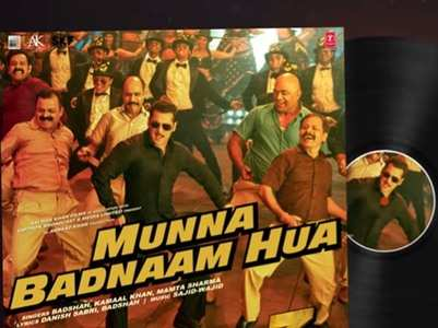 Here's the sound track of  'Munna Badnaam'