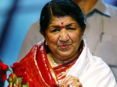 Lata hospitalised as a precautionary measures